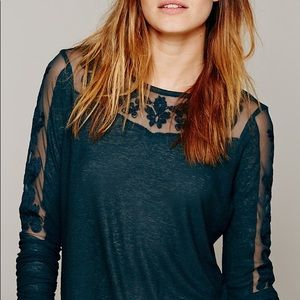 FREE PEOPLE NEW ROMANTICS JILLY TEE